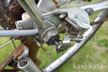 自転車 タイヤ交換