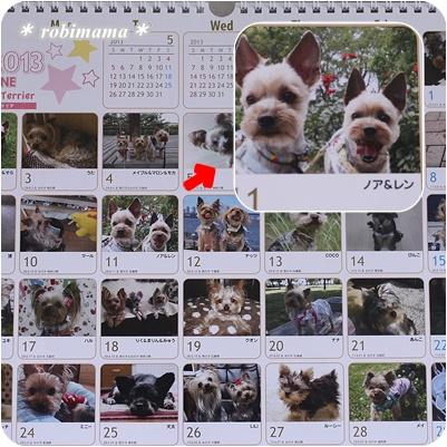 2013年のカレンダー