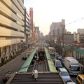 Photos: 阪堺電車天王寺駅前乗り場付近の風景