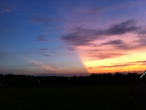 写真: 120829_sunset