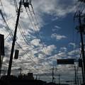 Photos: 台風直後の川越の空模様20131026
