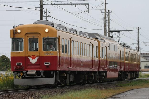 富山地鉄10030系「うなづき」号