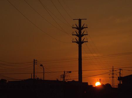 沈む夕日2