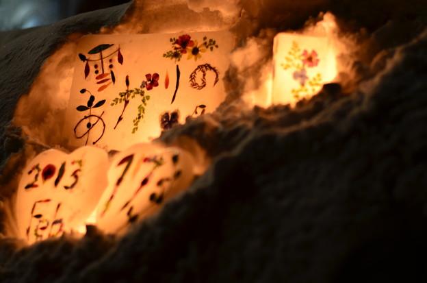写真: 小樽雪あかりの路