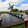 Photos: オランダの風車、キンデルダイクで。。