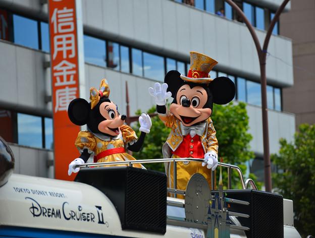 Okayama Momotarou festival 2013、東京ディズニーのミッキー・ミニー参加★