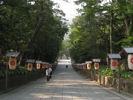出雲大社 下り参道2