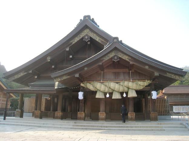 写真: 出雲大社 拝殿1 20130513