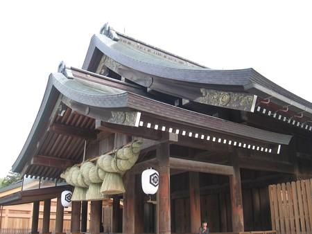 出雲大社 拝殿2 20130514
