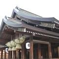 写真: 出雲大社 拝殿2 天道左旋