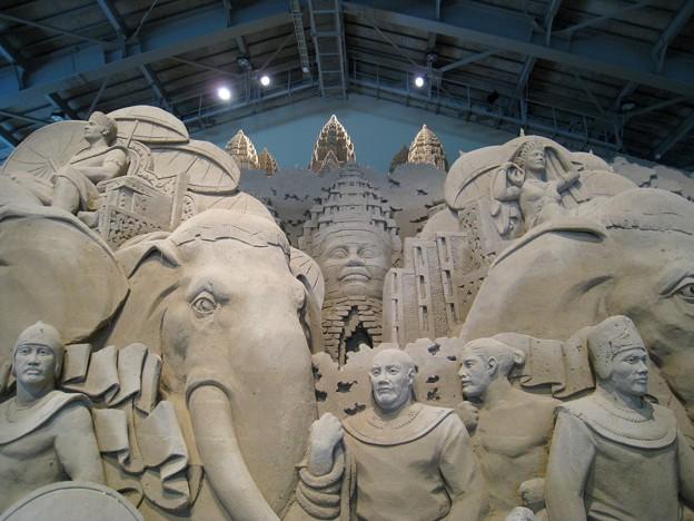 Photos: 砂の美術館09 アンコールワット5
