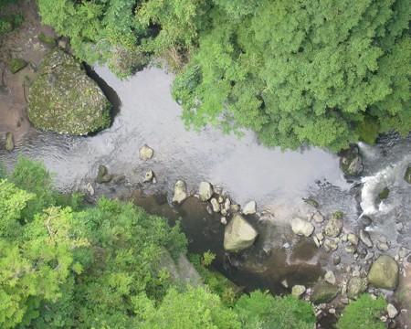 九重 夢大吊橋09 鳴子川