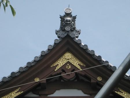 長谷寺04 観音堂鬼瓦