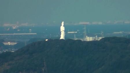 鋸山展望2―東京湾観音