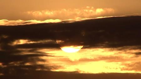 鋸山展望10―夕陽5