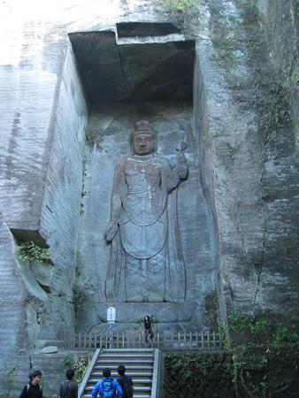 鋸山日本寺 百尺観音1