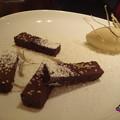 Photos: パヴェ・ショコラとセップのアイスクリーム