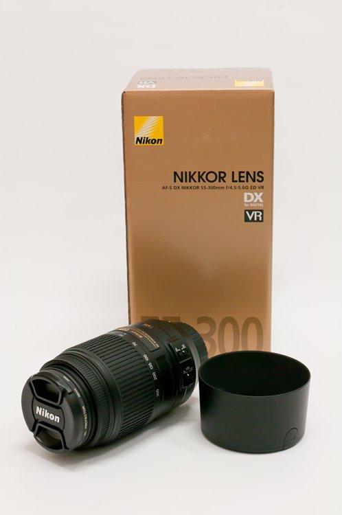 Nikon AF-S DX NIKKOR 55-300mm f/4.5-5.6G ED VR 全体