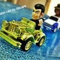 Golden Car to Escape scene 1