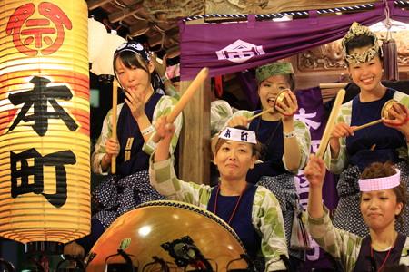 2012.08.05 富士 甲子祭 屋台 祭囃子