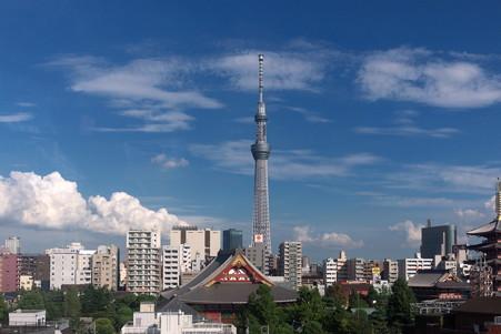 2012.09.11 浅草 花やしき Beeタワー 浅草寺・スカイツリー