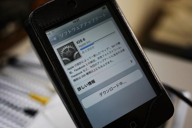 2012.09.21 机 iPod touch ios6