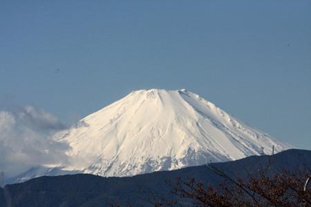 2012.11.27 東名海老名SA 富士山