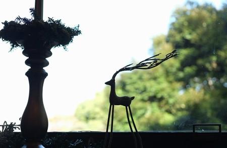 2012.12.05 山手西洋館世界のクリスマス2012 エリスマン邸 窓飾り クロアチア