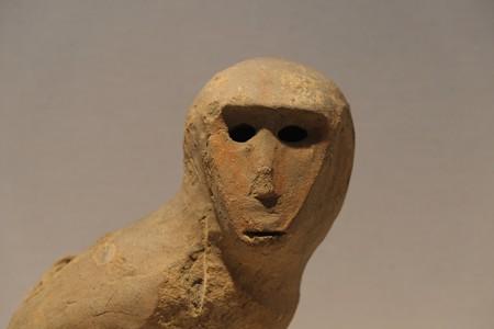 2012.12.06 上野 東京国立博物館 埴輪 猿