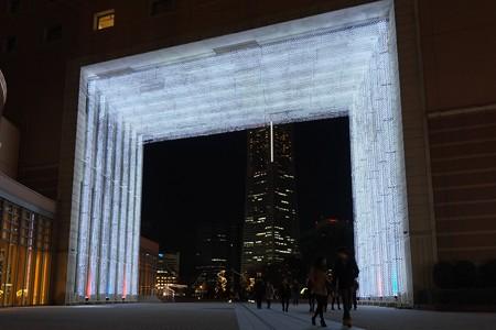 2012.12.09 みなとみらい ナビオス横浜 光のトンネル