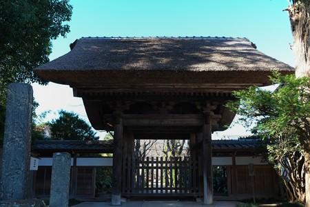 2012.12.13 鎌倉 極楽寺 山門