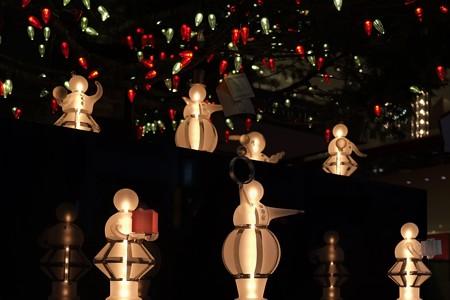 2012.12.16 銀座 ミキモトのクリスマスツリーの下