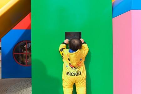 2013.01.06 横浜アンパンマンこどもミュージアム 何が見えるの