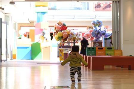 2013.01.11 横浜アンパンマンこどもミュージアム 喜びの動き