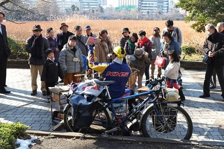 20113.01.19 上野 不忍池 音楽&写真は自転車に載せて Masahiro Tatematsu