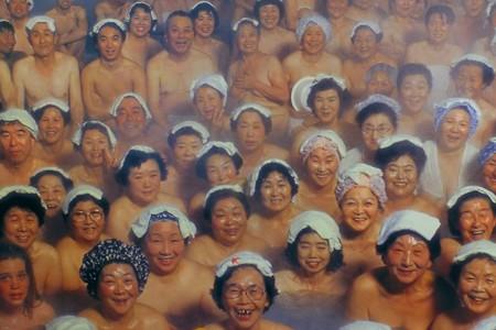 2013.01.25 青森県 酸ヶ湯温泉 ヒバ千人風呂ポスター