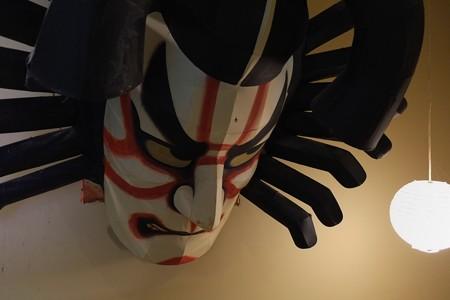 2013.01.26 青森県 浅虫温泉 椿館 ねぶた頭部