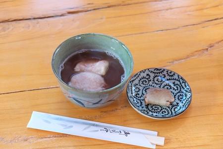 2013.01.28 乳頭温泉鶴の湯 茶舎 お汁粉