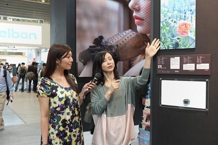 2013.02.02 パシフィコ横浜CP+2013 EPSON Booth