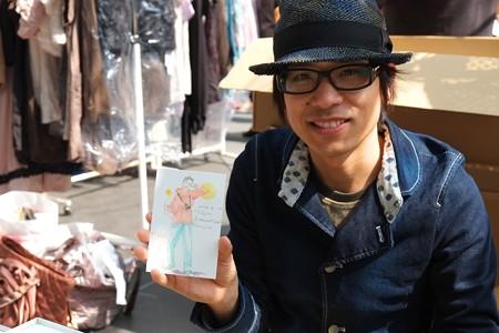 2013.03.10 東京国際フォーラム ベストフリーマーケット 似顔絵