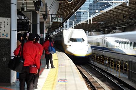 2013.03.15 東京駅23番線ホーム Maxとき314号