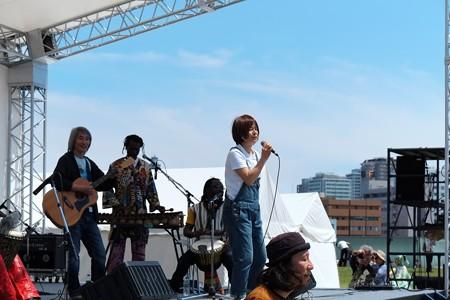 2013.05.12 赤レンガ倉庫 African Festa 2013 白井貴子