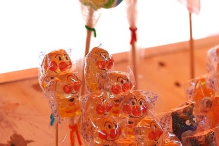 2009.08.04 富士市 甲子祭 屋台 アンパンマンの飴