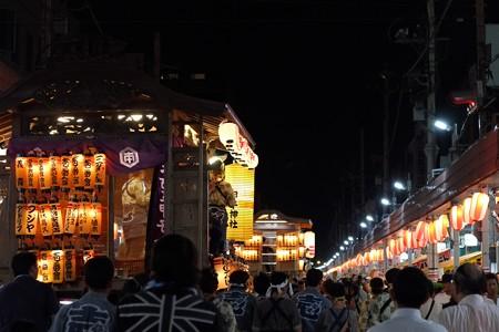2009.08.04 富士市 甲子祭 屋台 帰町