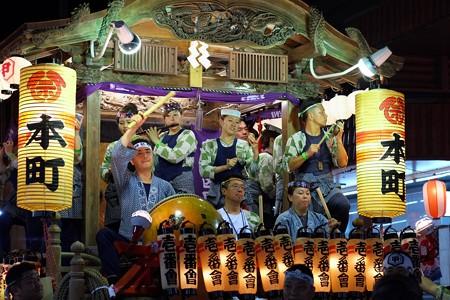 2009.08.04 富士市 甲子祭 屋台