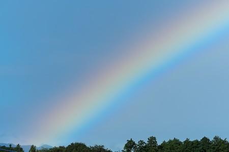 2013.10.16 自室窓 台風26号通過中の北の空