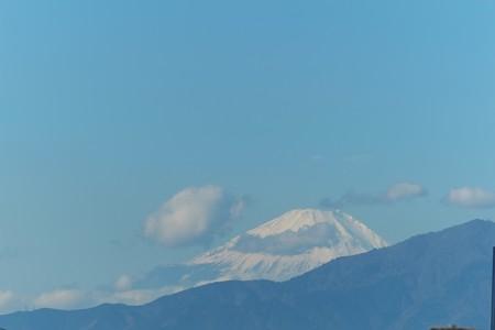 2013.11.27 駅前 富士山