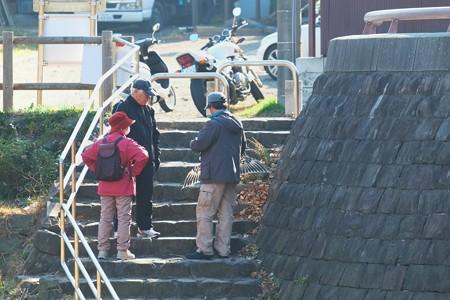 2013.12.02 和泉川 盤鷹