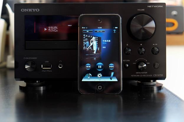 2013.12.13 机 iOS端末にOnkyo Remote