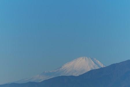 2013.12.14 駅前 富士山